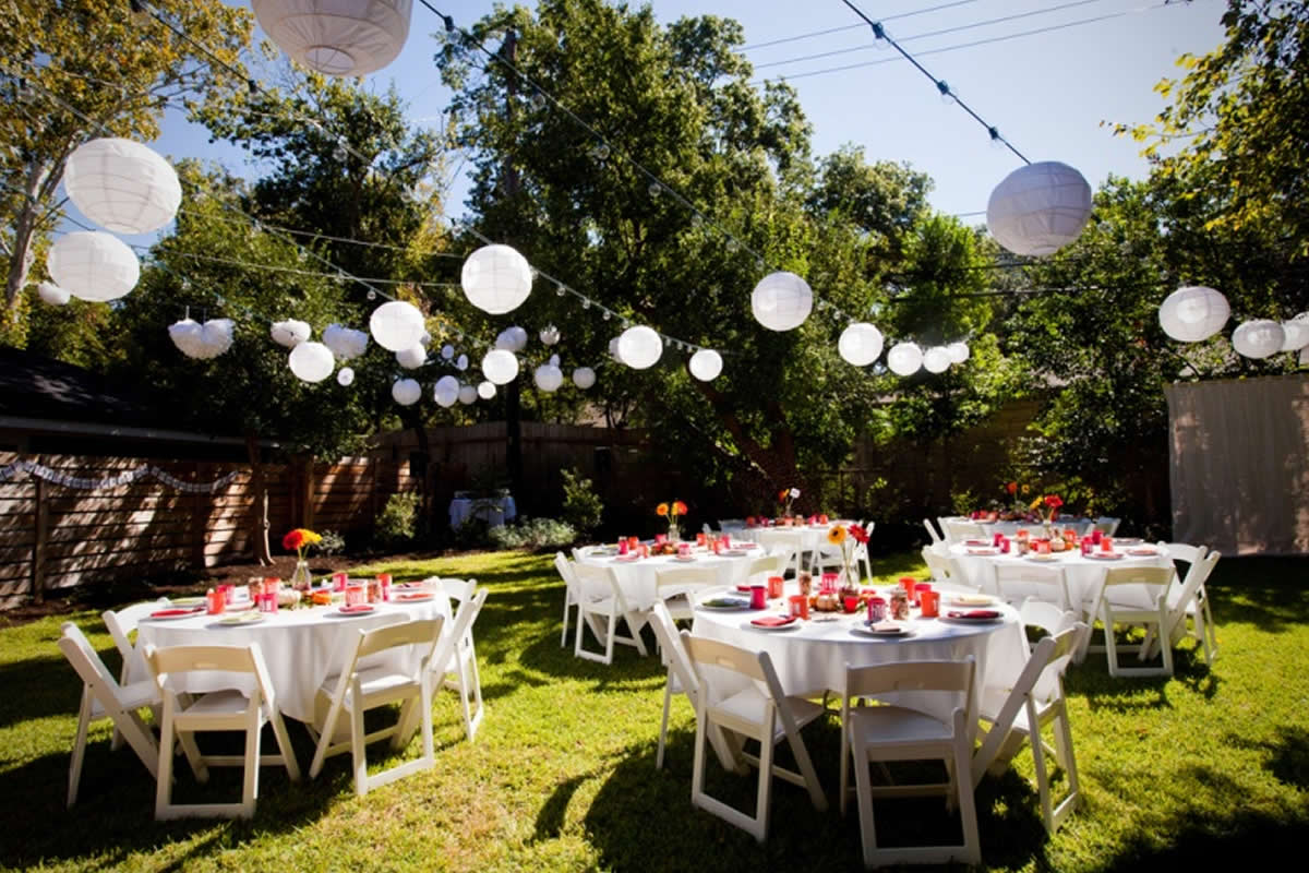 Outdoor Occasions Dressed Plastic Chairs For Hire